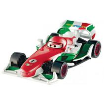 speelgoedauto Pixar F. Bernoulli junior rood/blauw