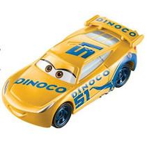 speelgoedauto Pixar Dinoco Cruz Ramirez oranje/geel