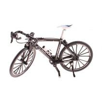 miniatuur model racefiets die-cast 18 x 5 x 10 cm 1:10 zwart