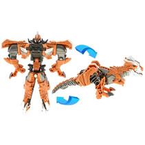 transformer robot/dinosaurus jongens 15 cm bruin