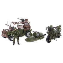 speelset Army special forces groen 5-delig