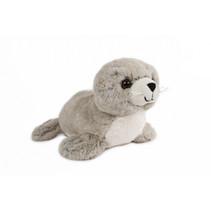 knuffel zeehond junior 26 cm pluche lichtbruin