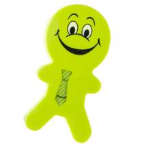 gum poppetjes junior 6 cm rubber groen 2 stuks