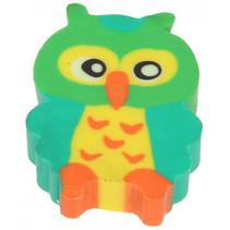 gum Uil meisjes 3,5 cm rubber geel/groen