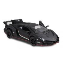sportwagen Lamborghini Veneno 1:36 die-cast zwart