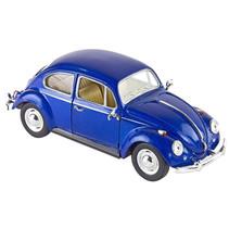 auto Volkswagen Kever 1967 die-cast 1:24 blauw