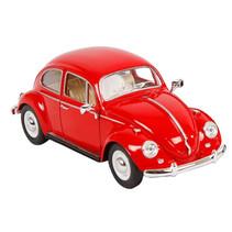 auto Volkswagen Kever 1967 die-cast 1:24 rood