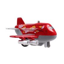 jet-vliegtuig Sonic Jumbo Jet 9 cm die-cast rood