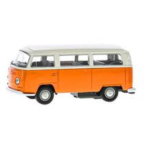 bus Volkswagen T2 jongens 12 cm staal die-cast oranje