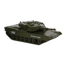 militaire tank diecast 7 cm legergroen