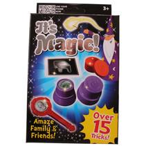 goochelset It's Magic junior 15 trucs blauw