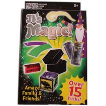 goochelset It's Magic junior 15 trucs groen