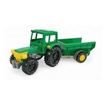 tractor met kiepkar 35 cm groen