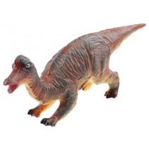 Animal World Hypacrosaurus 28 cm groen/oranje