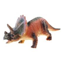 Animal World Centrosaurus 24 cm groen/oranje