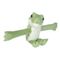 knuffel krokodil junior 18 cm pluche groen