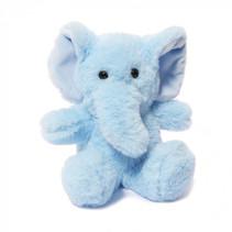 knuffel olifant junior 15 cm polyester blauw