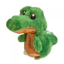 knuffel Sparkle Tales krokodil Snaps groen 12 cm
