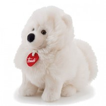knuffel hond Fluffies Samoyed wit 24 cm