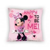 kussen Minnie Mouse 35 x 35 cm roze