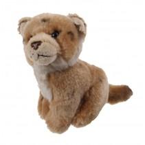 knuffel leeuwenwelp 14 cm bruin