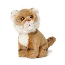 knuffel tijger 14 cm bruin
