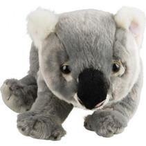 knuffel koala 26 cm pluche grijs