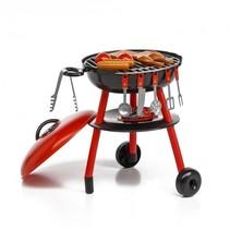 speelgoedbarbecue 50 cm rood/zwart 30-delig