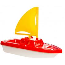 boot junior 29 cm rood/geel