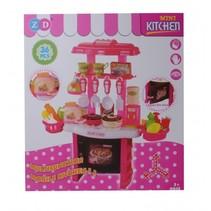 mini keuken 36-delig 54 cm rood