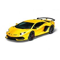 RC Lamborghini Aventador SVJ geel 1:14