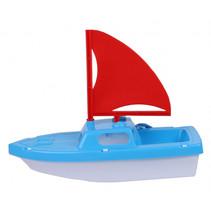 boot junior 29 cm blauw/rood