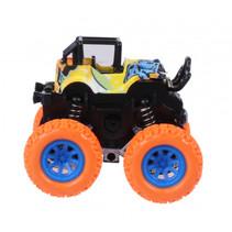 monstertruck junior 9 cm oranje