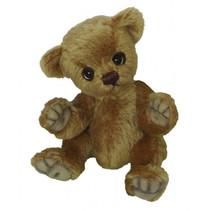 knuffelbeer Teddy Hebbel junior 20 cm pluche bruin