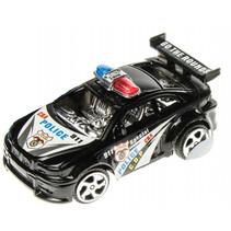 politieauto junior 8 cm zwart