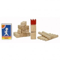 Mini Kubb Rubberhout