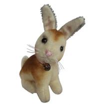 knuffelkonijn Miniatuur Nox 9 cm pluche bruin/wit