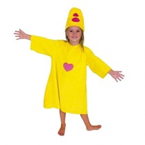 Bumba verkleedpakje geel