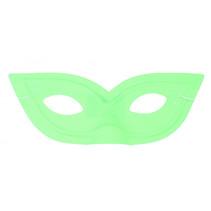 verkleedmasker junior 20,5 cm groen