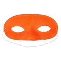 masker Fluo 16,5 cm oranje one-size