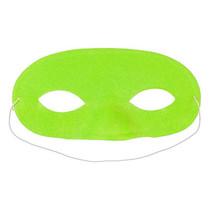 masker Fluo 16,5 cm groen one-size