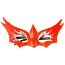 masker superheld jongens 18 cm rood