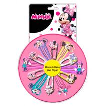 haarspeldjes Minnie Mouse meisjes roze 12-delig