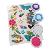 haardecoratie meisjes 4-delig multicolor