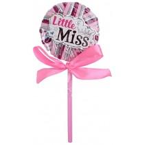 haarelastiekjes lolly roze/fuchsia 24 stuks