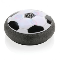 hover voetbal 6 x 17 cm foam zwart/wit