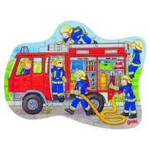 Legpuzzel Brandweer 22-Delig