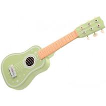 gitaar junior hout groen/blank