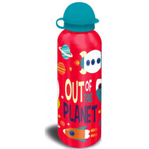 beker Out of this Planet 500 ml aluminium rood