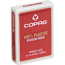 Copag Regular-speelkaarten rood 55 stuks